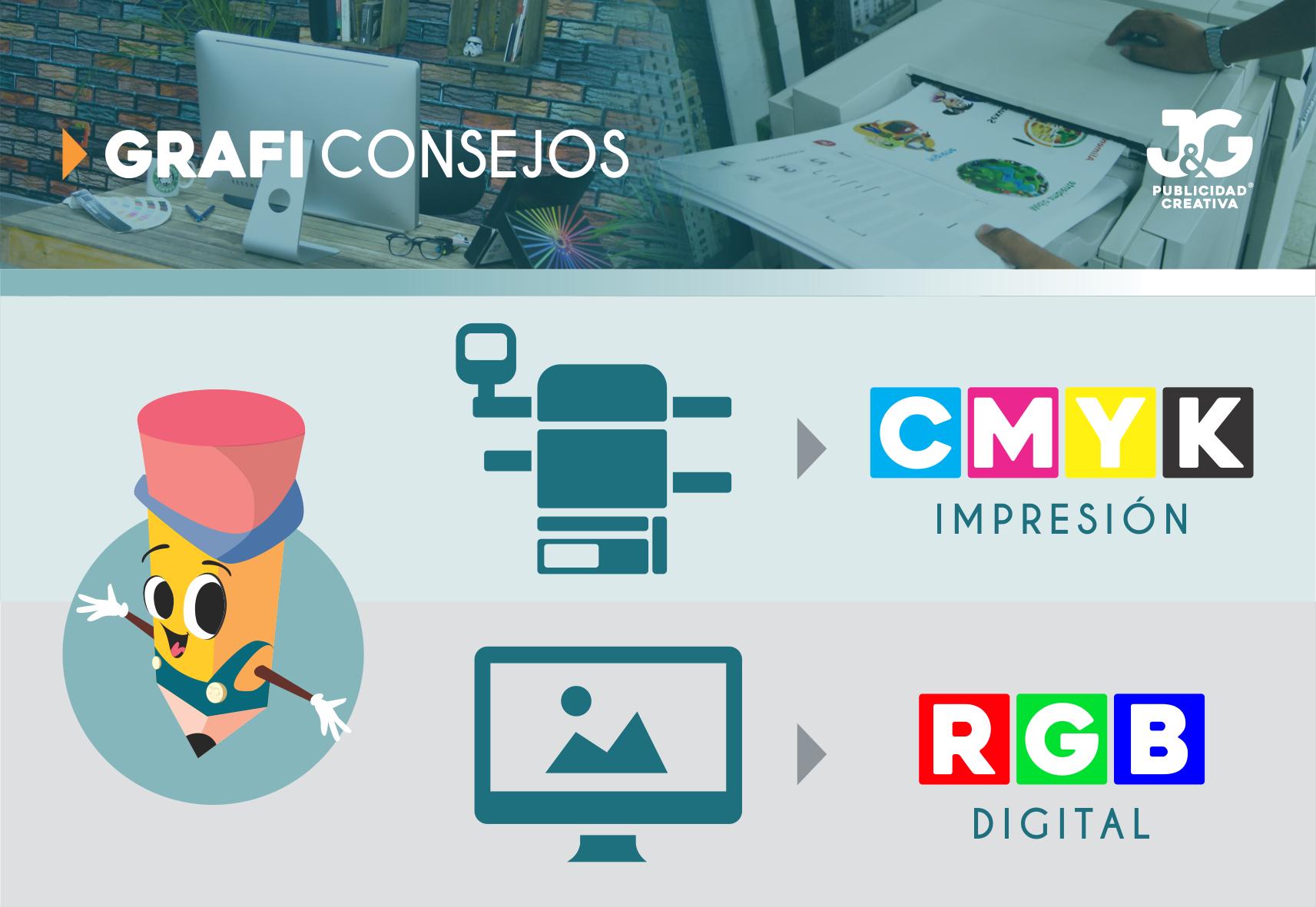 Formatos de Color CMYK y RGB - GrafiConsejos