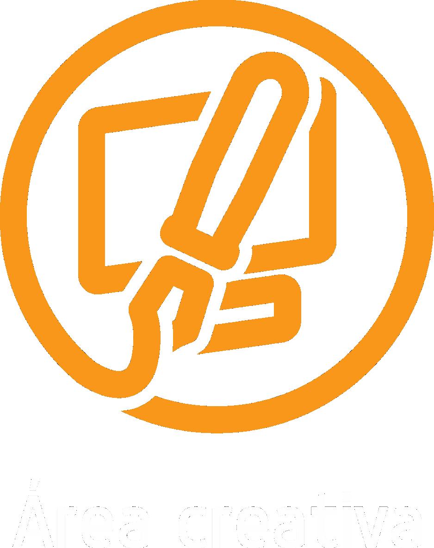 area creativa boton naranja web