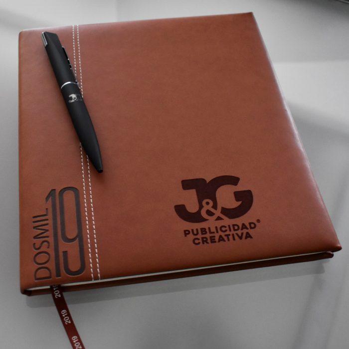 Kit de oficina personalizable Agenda - JyG