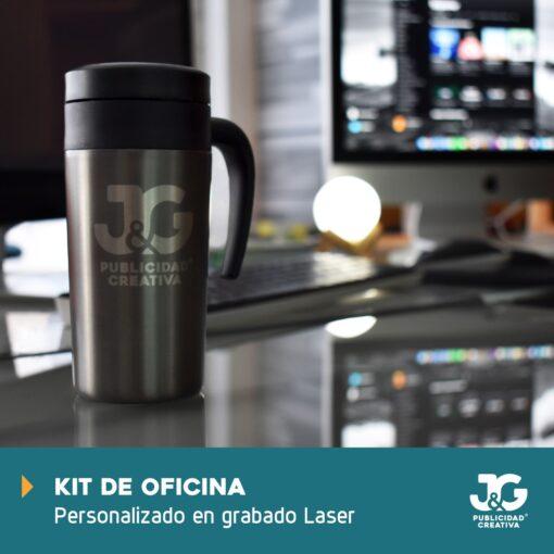 Kit de oficina personalizable Termo - JyG