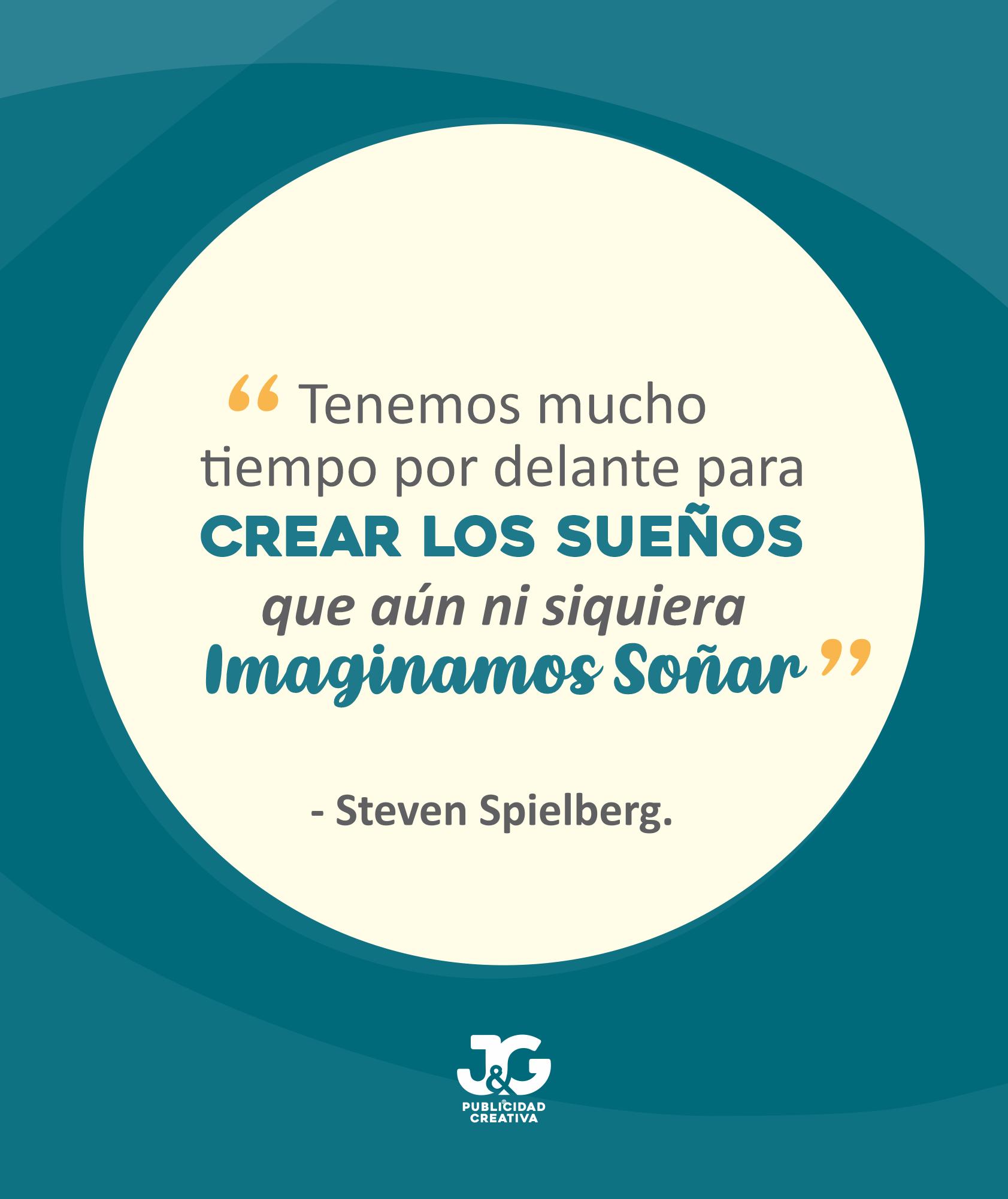 Stephen-Spielberg-JyG-Publicidad-Creativa