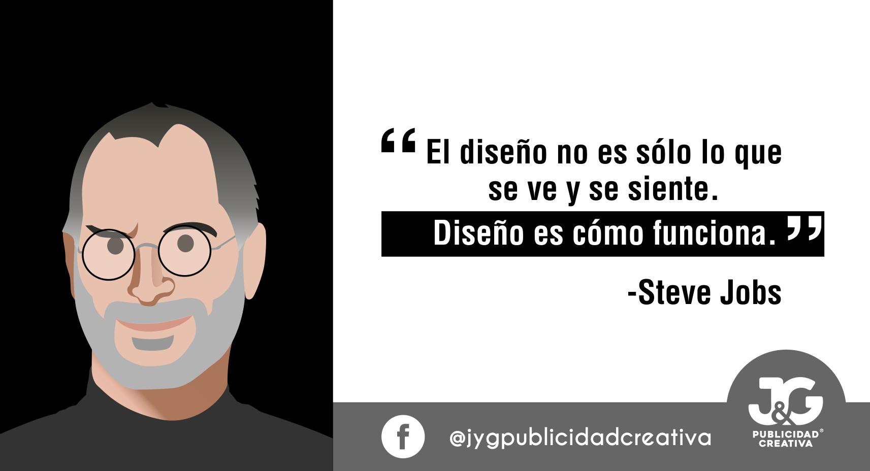 Steve Jobs - JyG Publicidad Creativa